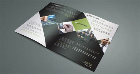corporate bi fold brochure template brochure templates