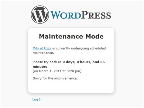 system maintenance notification template tutorials hosting plans seo