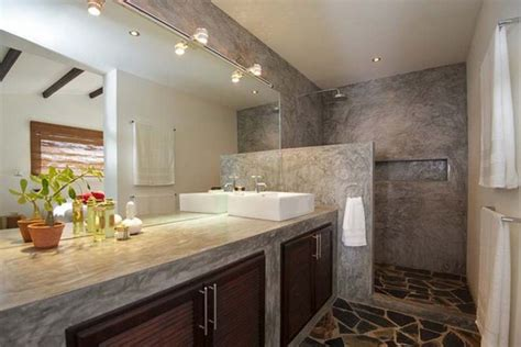 cost effective bathroom remodel innovative modern bathroom designs with stone walls and