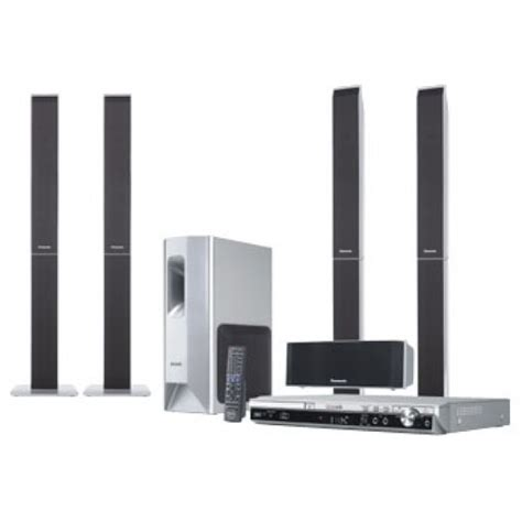 panasonic scpt550 dvd home theater system for 110 220