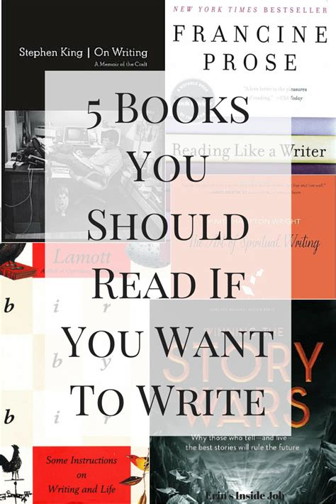 writing to be published and read books 5 books you should read if you want to write erin s