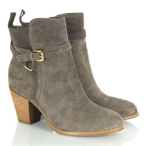 womans ankle boots by ralph taupe macie women s ankle boot