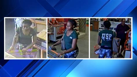 police say woman used fraudulent credit card at home depot
