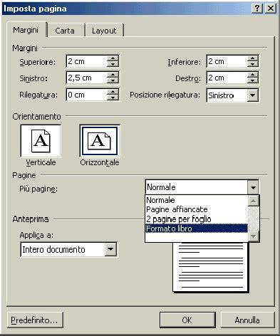 format file foto creare un libretto