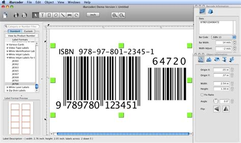 Software Barcode For Mac cristallight software isbn barcode generator for mac qr code postnet upc code 39 codabar