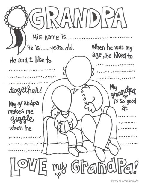 printable birthday cards grandparents grandparent coloring pages for grandparents day skip to