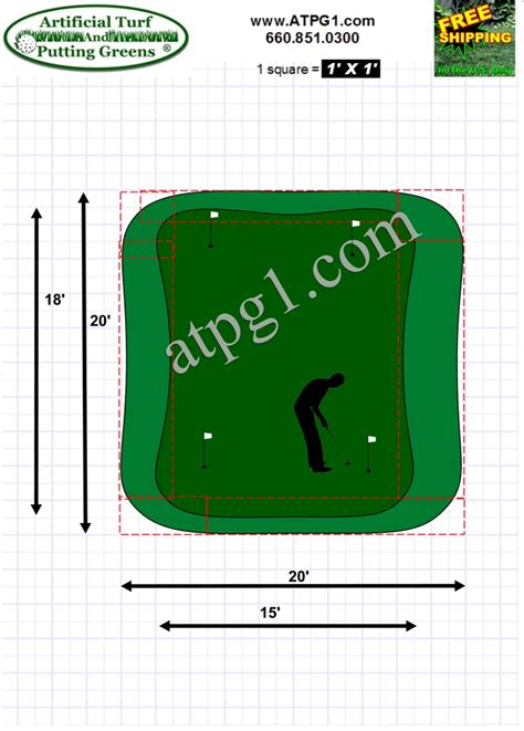 putting greens free putting green designs plans