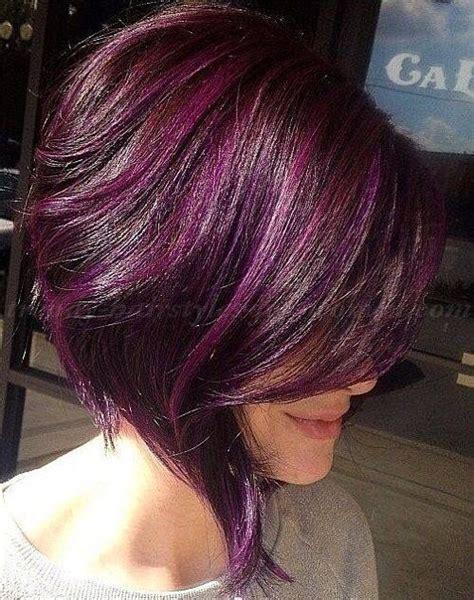 is streaking still popular on hair best 25 purple streaks ideas on pinterest purple hair