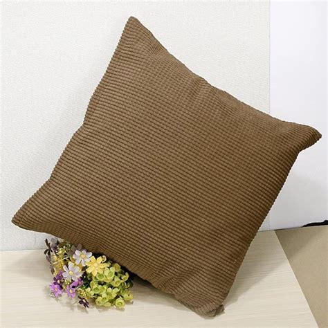 zippered cushion covers corn kernels corduroy sofa decor pillow cases zippered