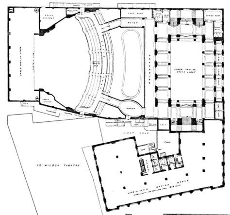 cinema floor plans metropolitan wang theatre boston mezzanine level