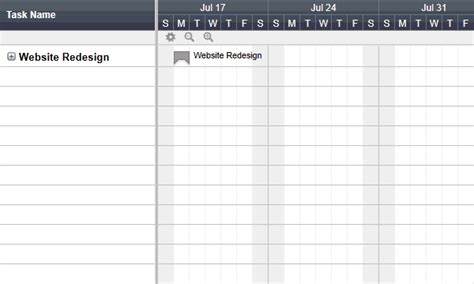 Make A Table Chart by How To Create A Gantt Chart In Excel