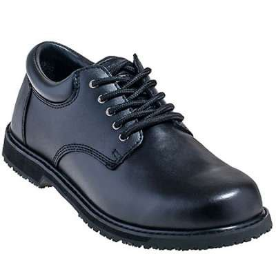 grabbers s g112 black leather restaurant shoes