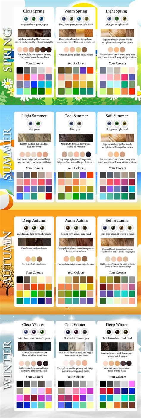 seasonal color analysis seasonal color analysis how to find your best colors