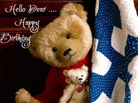 Happy Birthday Wishes Teddy Specially Best Teddy Bear Gifts For Birthday Wishes