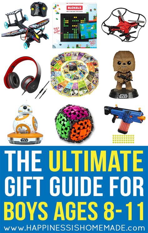 The Best Gift  Ee  Ideas Ee   For Boys Ages  Ee   Ee    Happiness Is Homemade