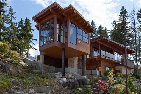 mountain chalet home plans