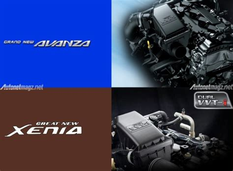 Mesin Xenia ini bedanya grand new toyota avanza dan great new xenia