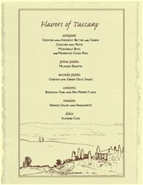 formal dinner menu ideas 1000 images about italian dinner on