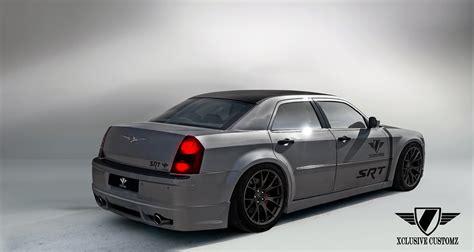 chrysler  rear splitter xclusive customz