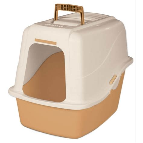 litter box basic hooded litter box set cat supplies gregrobert