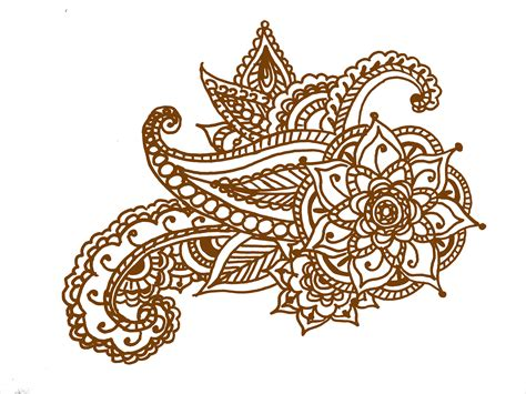 printable henna tattoo designs henna invite on henna designs easy