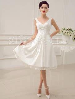 Hochzeitskleider Knielang Schlicht by Standesamtkleid Kleid Standesamt Kaufen Brautkleid