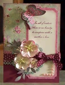 beautiful handmade birthday card or s day with