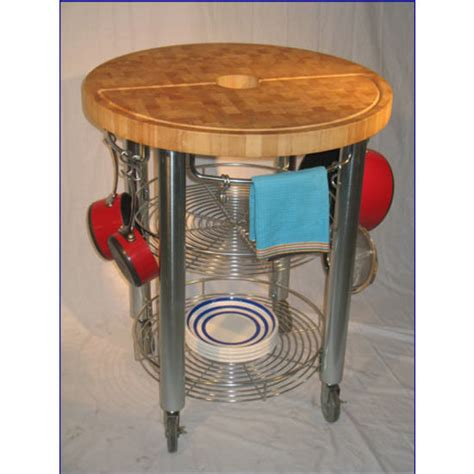 Chris And Chris Kitchen Cart by Pro Stadium Grill Cart Rubberwood Or Acacia End Grain Top