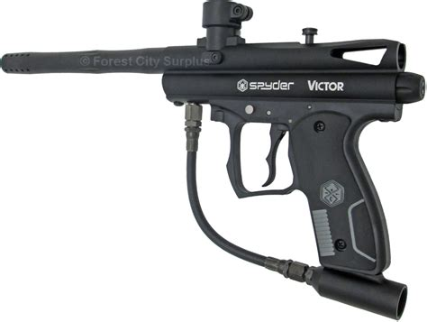 spyder 174 victor black paintball markers paintball guns