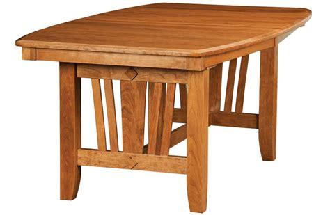 solid wood trestle table medina modern wood trestle table countryside amish furniture