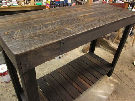 Granite Bar Table Just Tables Farm To And Last Part 2 Construction Pallet Lumber Island Console Bar