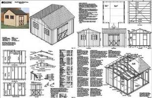denlo 12x12 shed plans pdf