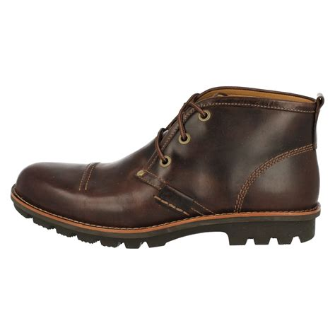 mens boots fall mens clarks ankle boots rapple fall ebay
