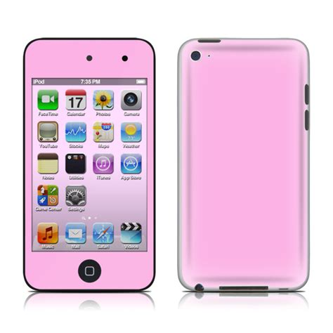 Istyles Sleeves For Ipods Iphones Or Treos by Solid State Pink Ipod Touch 4th Skin Covers Ipod