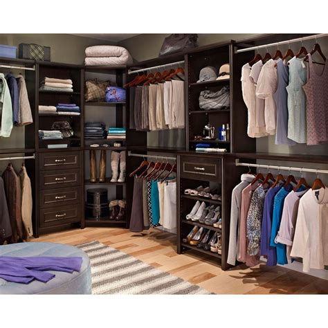 Closetmaid Closet by Closetmaid 30811 Impressions 41 1 In Chocolate Corner