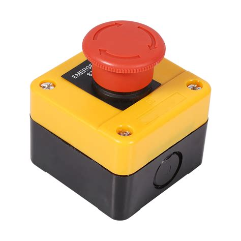 Switch Emergency ac 660v 10a big sign emergency stop push button