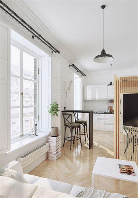 Rangement Petit Appartement by D 233 Co Studio Et Petit Appartement 4 Exemples Remarquables