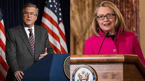Bush Vs Clinton by The News Today Bush V Clinton In 2016 New World