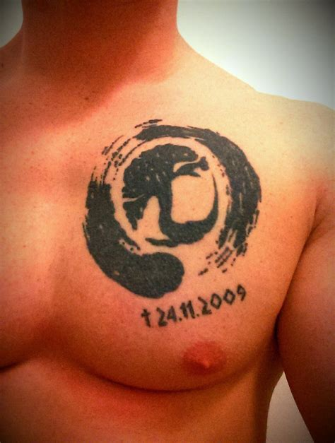zen circle tattoo 56 amazing zen enso circle tattoos ideas