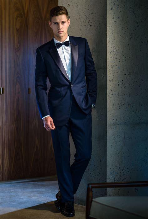 burberry prorsum sleek suit  midnight blue burberry