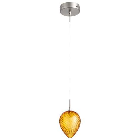 Orange Pendant Light Orange Glass Pendant Light