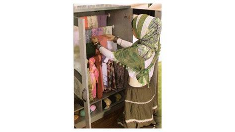 Lemari Untuk Jilbab tljk 02 3127 lemari jilbab kayu toppan sale promo