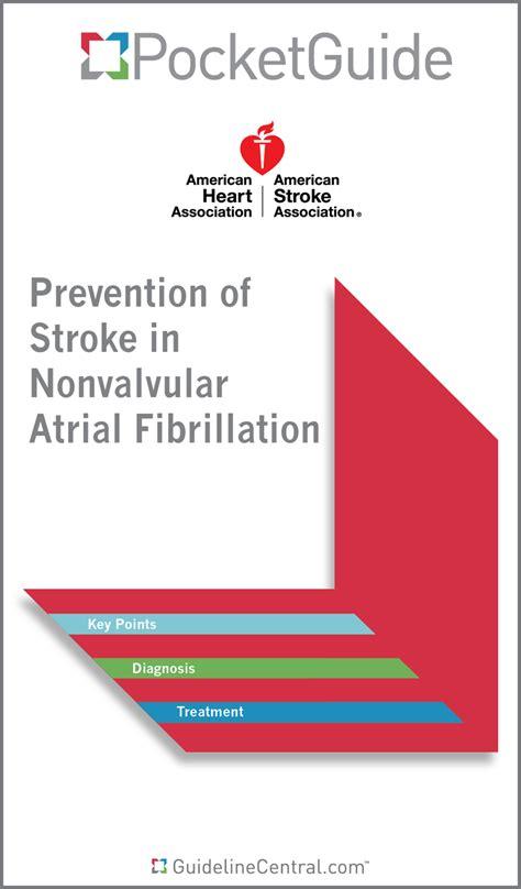 prevention of stroke in nonvalvular atrial fibrillation