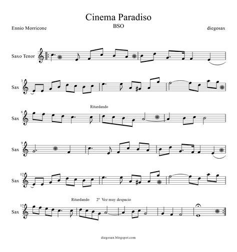 se filmer cinema paradiso gratis diegosax cinema paradiso de ennio morricone partitura