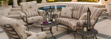 woodard wrought iron patio furniture woodard terrace wrought iron collection usa outdoor