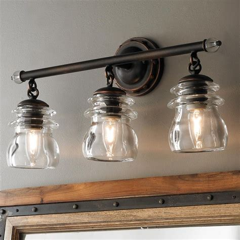 Vintage Style Bathroom Lighting Clear Glass Bathroom Lighting 20 Best Retro Style Bath Lights Schoolhouse Restoration Trends 13488