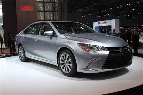 Camry Toyota 2015 2015 Toyota Camry New York Auto Show