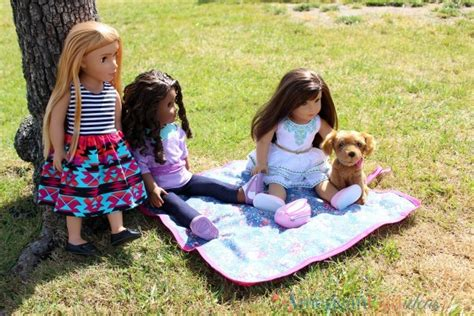 Blanket Giveaway - how to make a doll picnic blanket giveaway american girl ideas american girl ideas