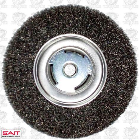 bench grinder wire wheels sait 06559 7 quot bench grinder metal wire wheel