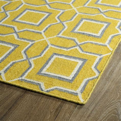 yellow area rugs kaleen rugs glam gla06 28 yellow area rug carpetmart